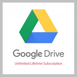 Google Drive Unlimited Subscription - Lifetime