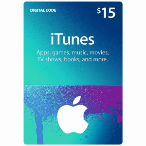 iTunes Gift Card $15 (US) Email Delivery