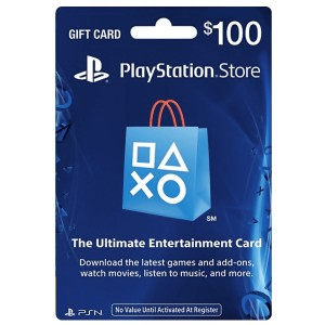 PlayStation N Gift Card $100 (US) [Email Delivery]