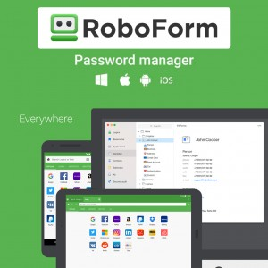 RoboForm Password Manager - 1 Year
