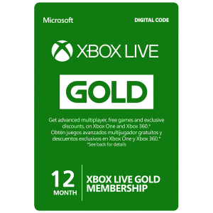 Xbox Live Card 12 Months (Global) Email Delivery