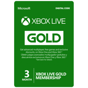 Xbox Live Card 3 Months (Global) Email Delivery