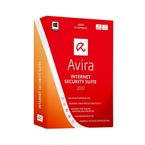 Avira Internet Security Suite 2017 OEM - 3 PCs / 1 Year