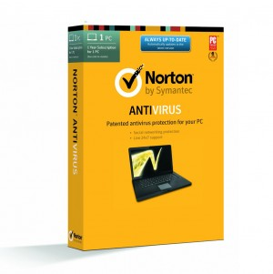 Norton Antivirus 2014 - 1 PC / 1 Year