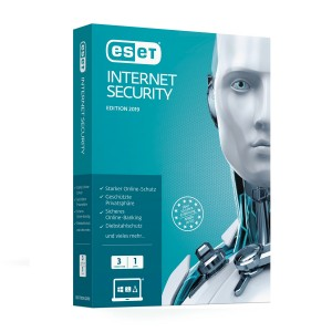 ESET Internet Security 2019 - 3 PCs / 1 Year