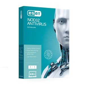 ESET NOD32 Antivirus 2019 - 1 PC / 1 Year