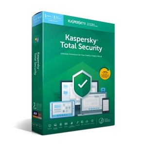 Kaspersky Total Security 2019 - 1 PC / 1 Year