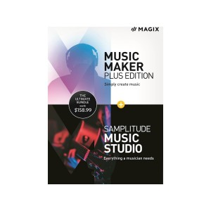 Music Maker Plus Edition + Samplitude Music Studio - Windows