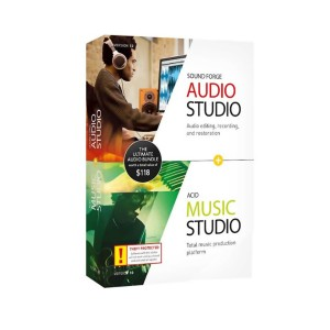 SOUND FORGE Audio Studio 12 and ACID Music Studio 10 Bundle - Windows