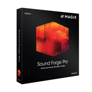 MAGIX SOUND FORGE Pro 11 2017 (for Windows)