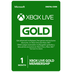 Xbox Live Card 1 Month (Global) Email Delivery